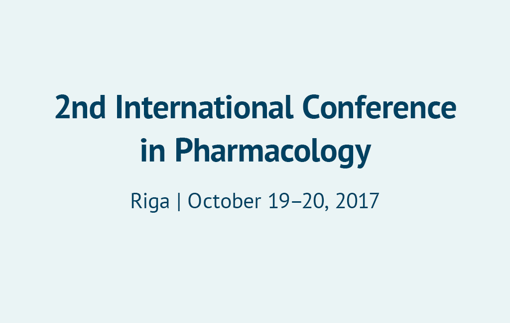 2nd International Conference in Pharmacology