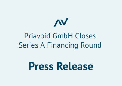 Priavoid closes financing round